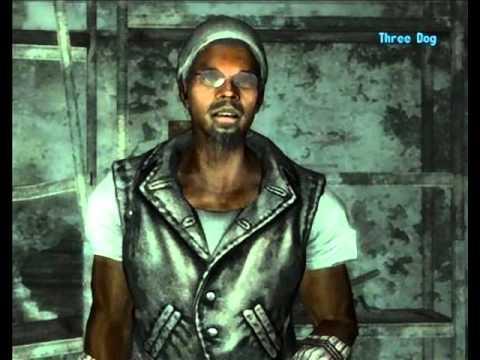 Fallout 3 Tre Cani Galaxy News Radio Tutti gli interventi del Disc Jockey