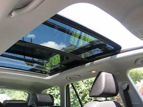 VW sportwagen TDI panoramic sunroof demonstration
