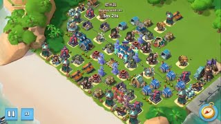BOOM BEACH — ONE OF THE BEST CHINESE ATTACK | 6 boosted ices