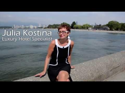 LUXURY HOTEL SPECIALIST - Julia Kostina, Renshaw Travel Advisor