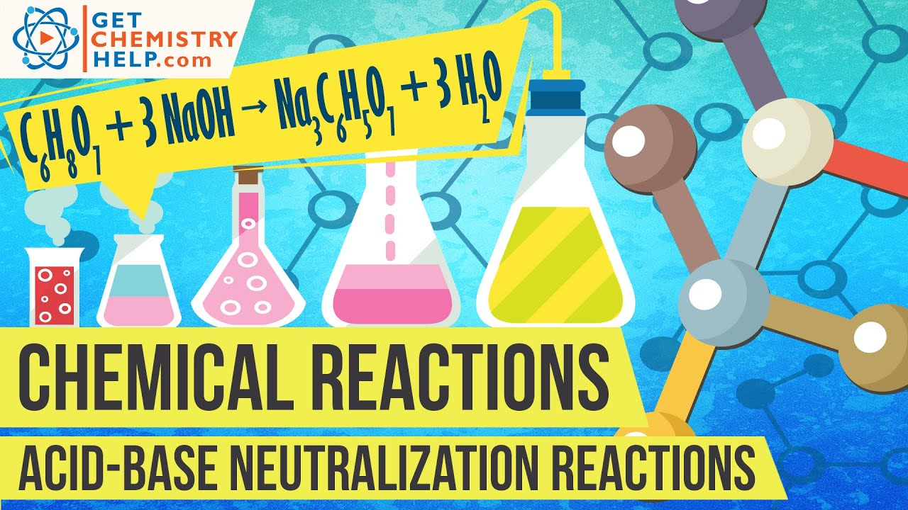 chemistry lesson  acid-base neutralization reactions