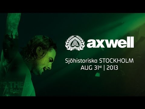 Axwell @ Where's The Party Maritime Museum Stockholm, Sweden.2013 Full Set
