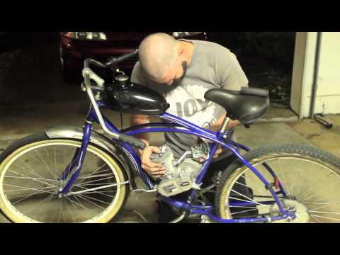 How to Put An Engine Kit On A Beach Cruiser Part 3 (Carb & Throttle)