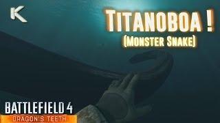 Battlefield 4 Titanoboa - Monster Snake Easter Egg?