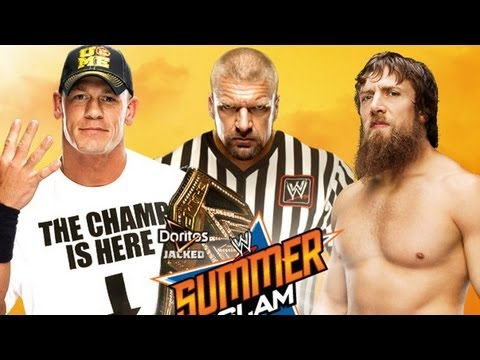 John Cena vs. Daniel Bryan - WWE '13 SummerSlam Simulation