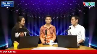 Ca sĩ Lâm Bảo Phi giao lưu với thính giả Mekong FM 90Mhz