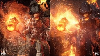 Unreal Engine 4: Elemental - PlayStation 4 vs. PC Comparison