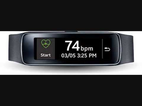 Samsung Gear Fit Fitness Tracker and Smartwatch for Samsung Devices