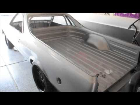 1984 El Camino Pro Touring Project Desert Eagle