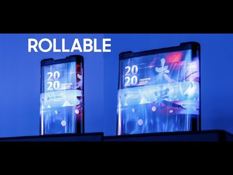 TCL ROLLABLE Phone DEMO LEAKED !!