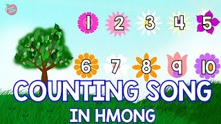 Hmong Channel Counting Four Seasons Song by Hmong Kids Channel