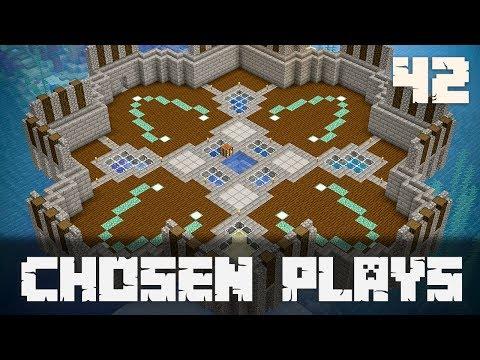 Chosen Plays Minecraft 1.13 Ep. 42 Main Floor Build Timelapse