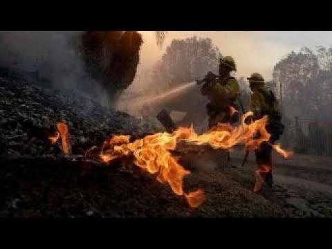 Wildfires continue to spread in California