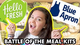 Hello Fresh vs Blue Apron Meal Kit Review *NOT SPONSORED*