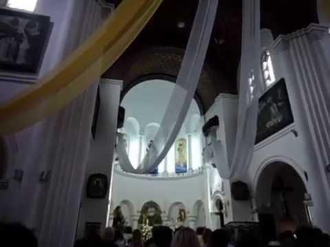 Красивая песня и органная музыка в Красном костеле, г. Минск
