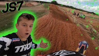 Dangerboy Goes Big at Stewart Compound! GoPro Raw 85cc Railing Pro Track