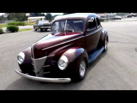 1940 Ford Coupe Supercharged