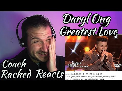Vocal Coach Reaction + Analysis - Daryl Ong - Greatest Love Of All