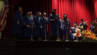 Walter Panas High School Senior Chorus Performs at Graduation