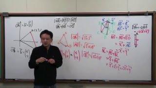 FCS数学教室/ベクトル入門1限目「六角形」【後】
