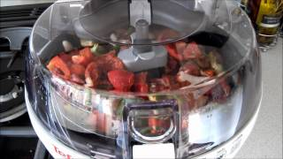 My first lunch cooked in Actifry from Tefal [HD]