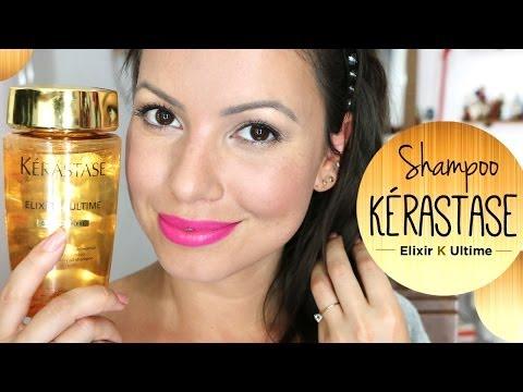 Dica para deixar o cabelo hidratado com Shampoo Kerastase Elixir Ultime
