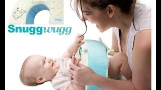 Snuggwugg Interactive Baby Pillow - Diaper Changing Solutions & Parenting Made Easy