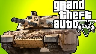 GTA 5 Cheats: Easy Tank and Jet Glitch, GTA Online Crew, (GTA 5 Glitch PS3 XBOX) GTAV Tips