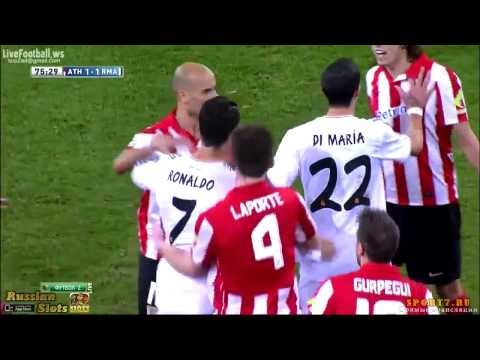 Cristiano Ronaldo Red Card vs Athletic Bilbao ~ Real Madrid vs Athletic Bilbao 1 1 FULL HD 720p