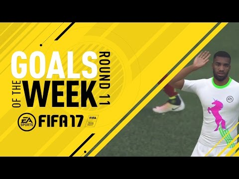 FIFA 17 - Goals of the Week - Round 11