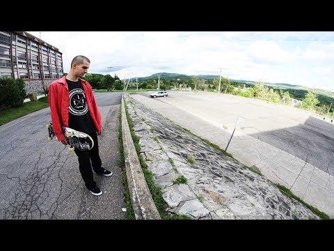 Ethernal Skate Films / Steven Mazz X Street Skateboarding @ Ste-Adèle Spots (Laurentides/Qc)