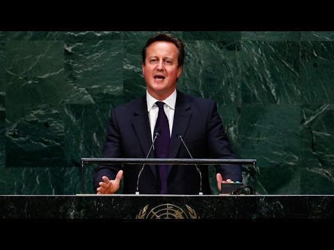 Cameron's Speech To The UN General Assembly Warns Of 'Murderous Plans' Of IS