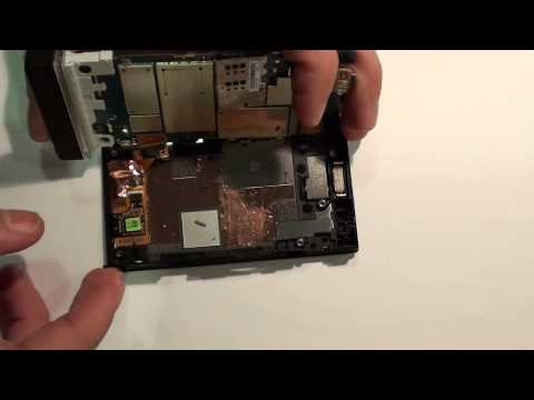 Desmontar Disassembly Sony Xperia U (ST25i) HD