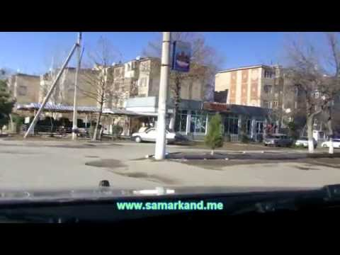 Улицы Самарканда январь 2013 - массив Согдиана (www.samarkand.me)