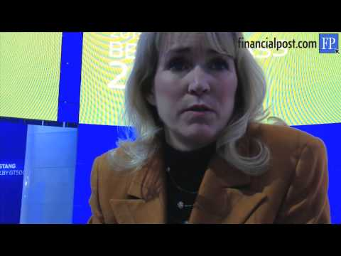 Ford Motor Co. of Canada chief executive Dianne Craig discusses 2012 sales