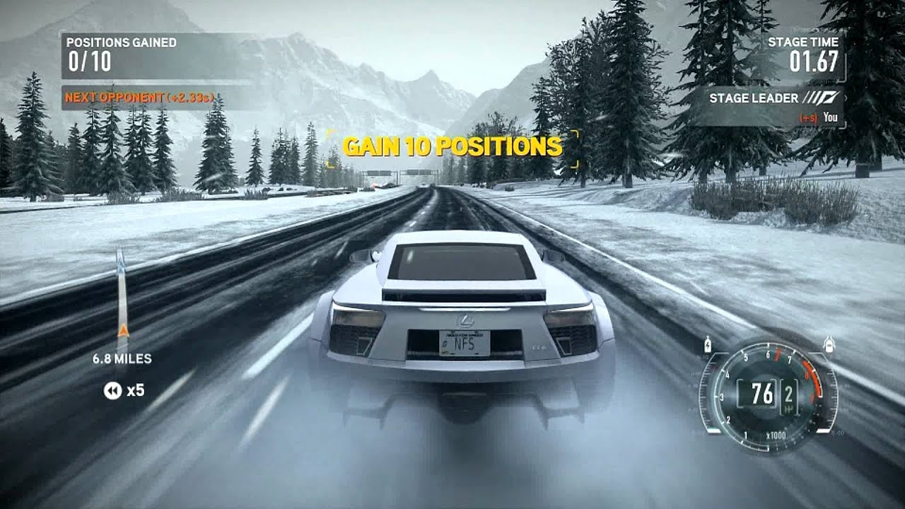 Need For Speed The Run pc Need For Speed The Run pc Test