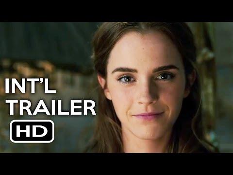Beauty and the Beast Official International Trailer #1 (2017) Emma Watson, Dan Stevens Movie HD