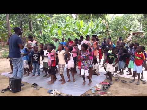 """Church under the mango tree"" in Haiti"