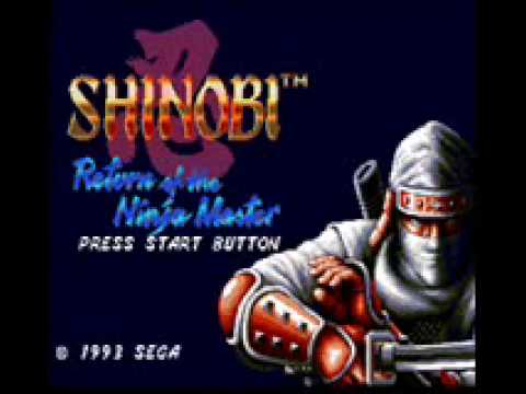 WhirlWind Shinobi III Return of the Master Ninja SoundTrack