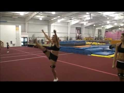 Cheer Jump Training with Resistance Bands   Part 4
