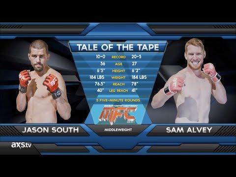 Fight of the Week Sam Alvey vs Jason South MFC38