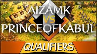 ⚔️ AoE3 New World Championship: Aizamk vs PrinceofKabul [Elimination Round 5]