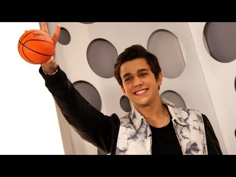Austin Mahone Plays Basketball & Talks Kissing At Clevvertv Studio video