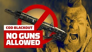 Call of Duty Blackout: No Gun Challenge