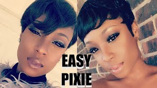 HOW TO: Style a Classic Pixie Cut (easy + beginner friendly) | Lorissa Turner