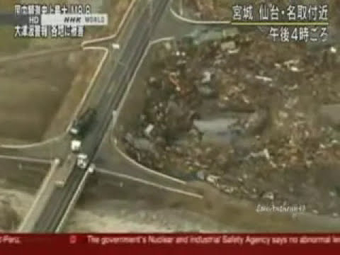 TSUNAMI EN  JAPON 2011..VIDEOS IMPACTANTES