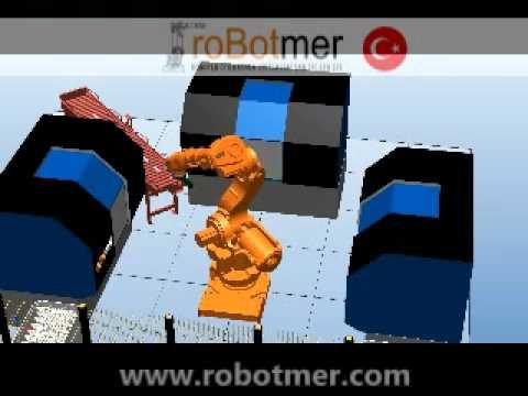 Taşıma Robotu Simülasyonu 1