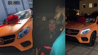 Anuel Aa Le Regala Una Mercedes Benz Gle 43 Amg 34 A Karol G