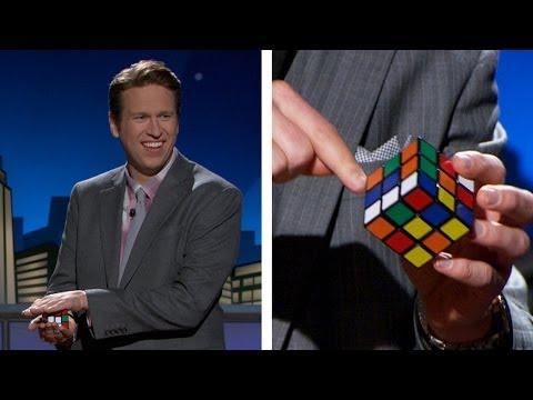 Web Exclusive: Rubik's Cube Trick with Karl Koppertop