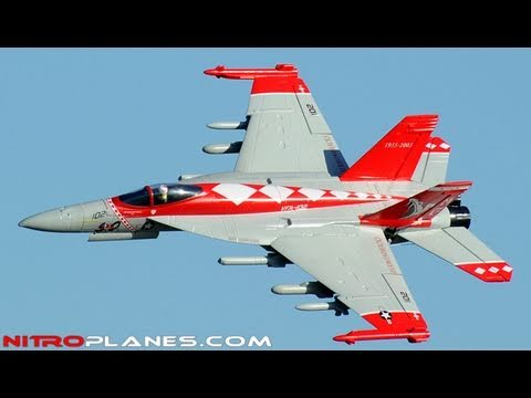 New Exceed Rc F-18 Brushless 70mm EDF Fighter Jet w/ Retracts Review